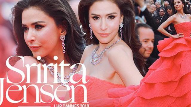"""Ngày thứ 2 Cannes xuất hiện nữ thần nhan sắc chặt chém thảm đỏ, khiến """"Phạm Băng Băng Thái Lan"""" chịu lép vế"""
