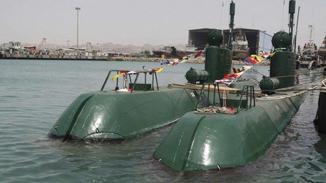 Hạm đội tàu ngầm Iran liệu có tấn công nổi tàu Mỹ?