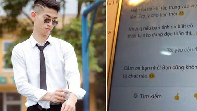 """Đăng video ôn thi cùng chị Google, nam sinh Hà Nội khiến hội fangirl gào thét: """"Nghe giọng là biết đẹp trai rồi!"""""""