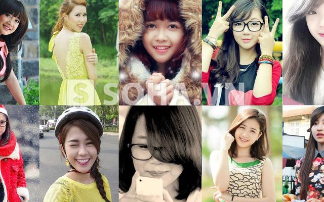Top 10 hot girl xinh nhat viet nam 2013