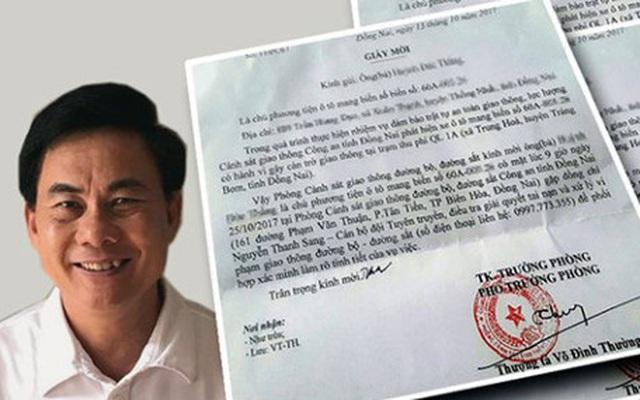 """Thượng tá Võ Đình Thường: """"Trạm thu phí không dính dáng đến gia đình tôi"""""""