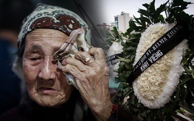 Đám tang nghèo của cô gái 18 tuổi đầy nghị lực: Bà nội đau đớn, chỉ mong đủ tiền xây mộ cho cháu!