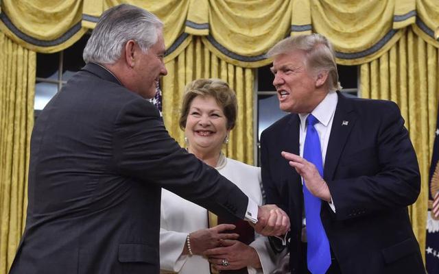 Ngoại trưởng Tillerson: Mỹ phải chấp nhận rủi ro và sát cánh cùng đối tác ở biển Đông