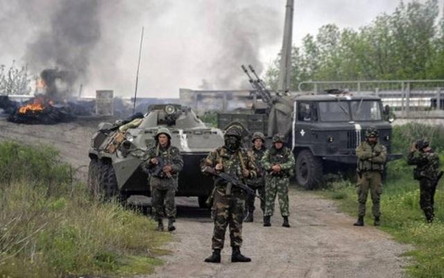 Giao tranh bùng phát tại miền Đông, 4 binh sĩ Ukraine thiệt mạng