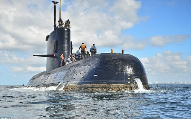 Rộ tin tàu ngầm Argentina bị Hải quân Hoàng gia truy đuổi trước khi mất tích