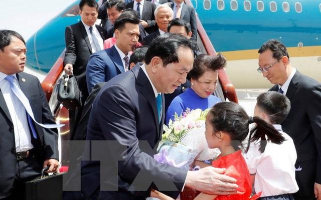 Chủ tịch nước bắt đầu chuyến thăm cấp Nhà nước tới CHND Trung Hoa