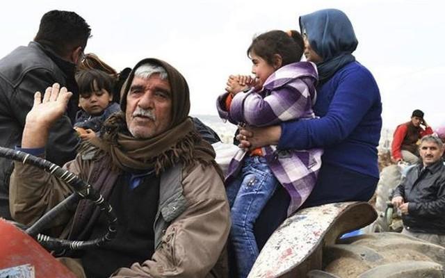 Dân Syria làm lá chắn sống ngăn quân Thổ Nhĩ Kỳ