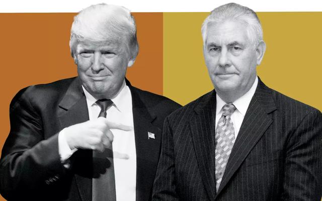 WSJ: Tổng thống Trump ép ông Tillerson ăn salad ôi vì sợ quan chức Trung Quốc mếch lòng