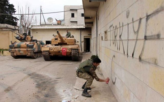 """Tung bản đồ loạt căn cứ Pháp ở Syria: Thổ """"nắn gân"""" ông Macron, lính Pháp vào tầm ngắm"""