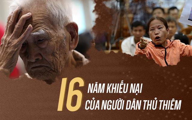 Infographic: 16 năm khiếu nại của người dân Thủ Thiêm