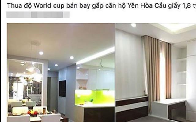 Hết World Cup, cảnh giác trước các chiêu trò bán hàng thanh lý