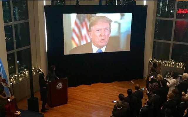 Mỹ mở đại tiệc cảm ơn các nước ủng hộ vụ Jerusalem