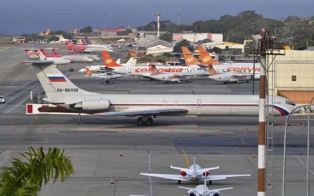 Nga muốn đưa máy bay quân sự từ Syria đến Venezuela nhưng không thành?