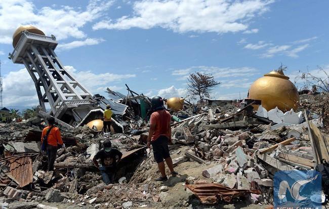 NÓNG: Động đất 6-7 độ richter rung chuyển Indonesia và Papua New Guinea 1