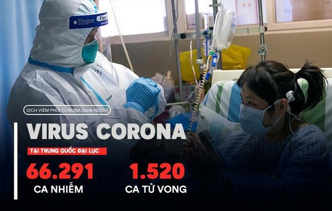 """Tỉnh Hồ Bắc (TQ) ghi nhận thêm 139 ca tử vong, 2.420 ca nhiễm virus corona; Ngoại trưởng TQ """"nhắc nhở"""" Mỹ"""