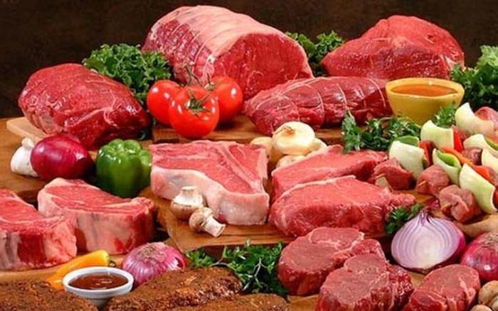 Kết quả hình ảnh cho Thịt đỏ