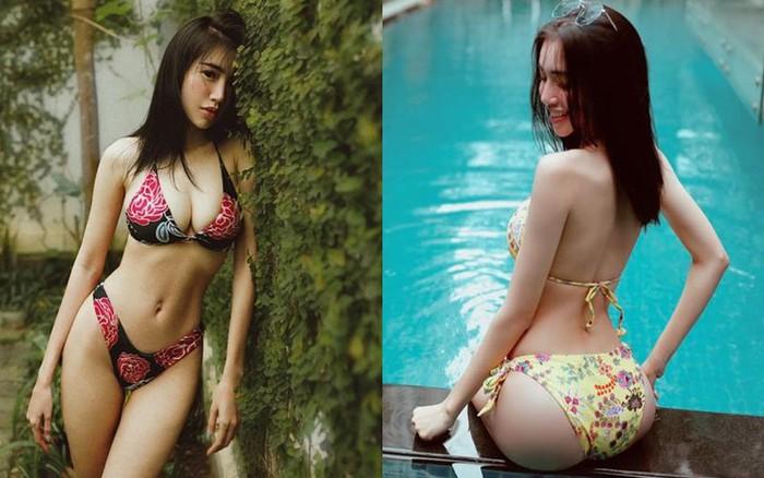 Sau khi bị chê gầy gò, Elly Trần liên tục đăng ảnh bikini nóng bỏng