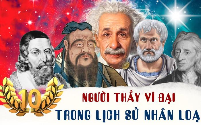 10 người thầy vĩ đại nhất trong lịch sử nhân loại -