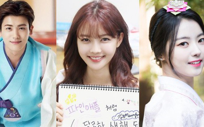 Sao Hàn đón Tết: Idol thi nhau diện hanbok lung linh, Park Shin Hye cùng dàn sao gửi lời chúc trên phim...