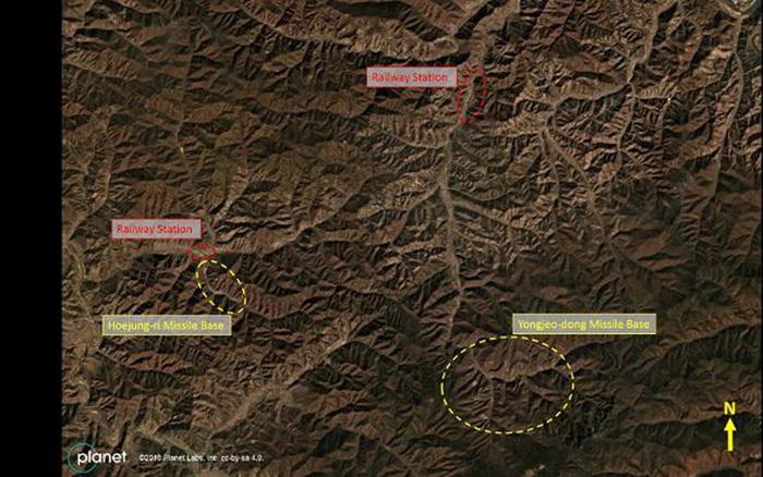 """Truyền thông Mỹ đăng ảnh """"căn cứ tên lửa bí mật"""" của Triều Tiên"""