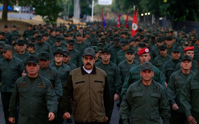 Một loạt sĩ quan cao cấp Quân đội Venezuela bị sa thải sau đảo chính: Có tướng tình báo