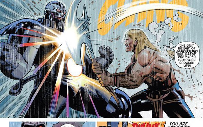 Avengers: Endgame - Chiến rìu Stormbreaker của Thor sẽ có hình dáng thế nào nếu như không dùng tay của...
