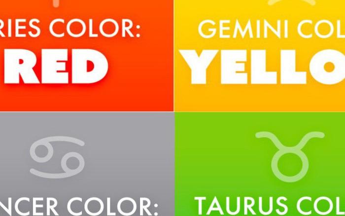 Yêu thích màu gì cũng ảnh hưởng đến cung hoàng đạo của bạn?