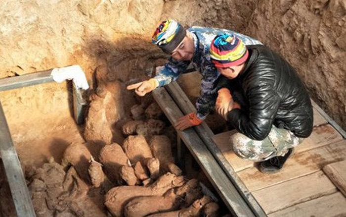 Trung Quốc phát hiện hơn 40 cổ vật 2.000 năm tuổi tại Sơn Đông
