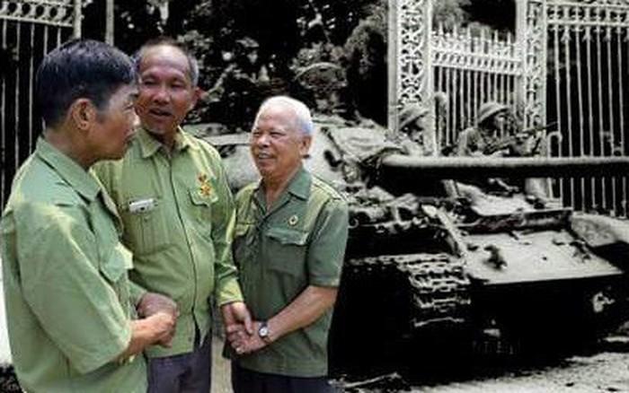 Ký ức ngày 30-4 tại Dinh Độc lập của những người lính xe tăng