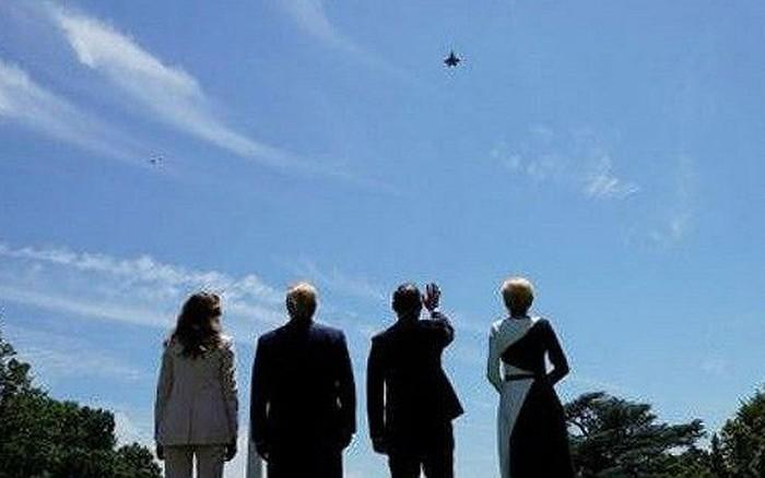 Ông Trump điều máy bay tàng hình F-35 tới Nhà Trắng 'khoe' Tổng thống Ba Lan