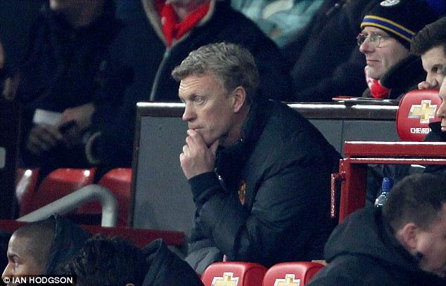 David Moyes bất lực khi đội nhà thua 0-1 trước Everton ngay tại Old Trafford.