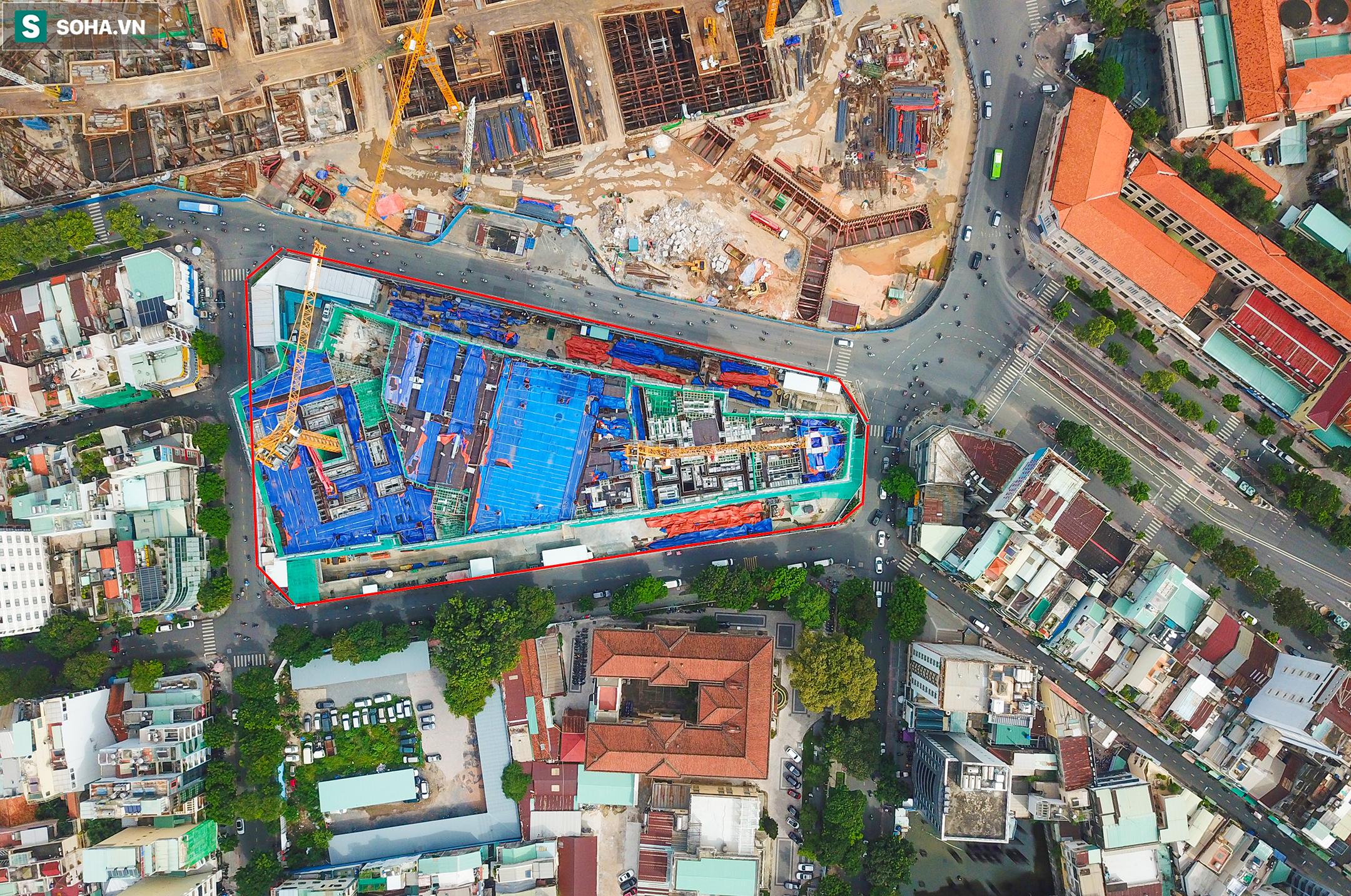Dự án tứ giác Bến Thành có vị trí đắc địa bậc nhất TP.HCM thi công gây lún nứt Bảo tàng Mỹ thuật - Ảnh 3.