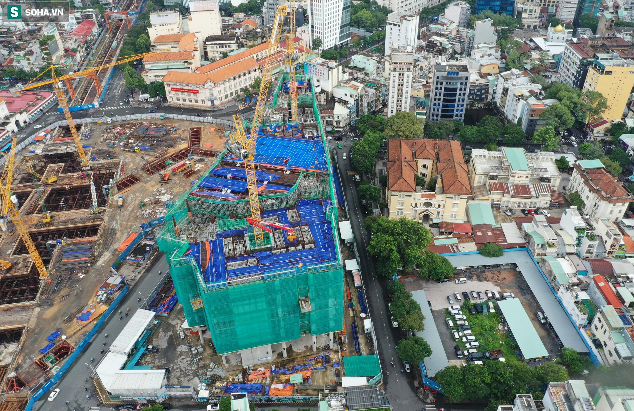 Dự án tứ giác Bến Thành có vị trí đắc địa bậc nhất TP.HCM thi công gây lún nứt Bảo tàng Mỹ thuật - Ảnh 17.