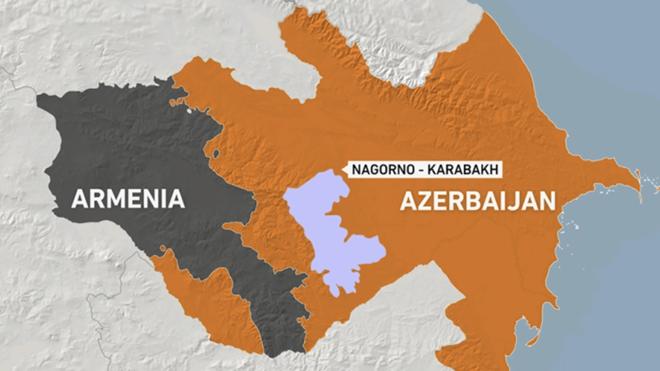 Nga hối thúc Azerbaijan-Armenia đến Moscow đối thoại - Ảnh 1.