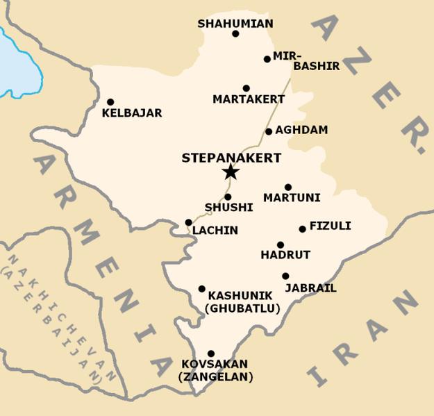 QĐ Azerbaijan hủy diệt cơ giới - pháo binh đối phương, tố vi phạm ngừng bắn - Chiến sự Nagorno-Karabakh nóng rực! - Ảnh 2.