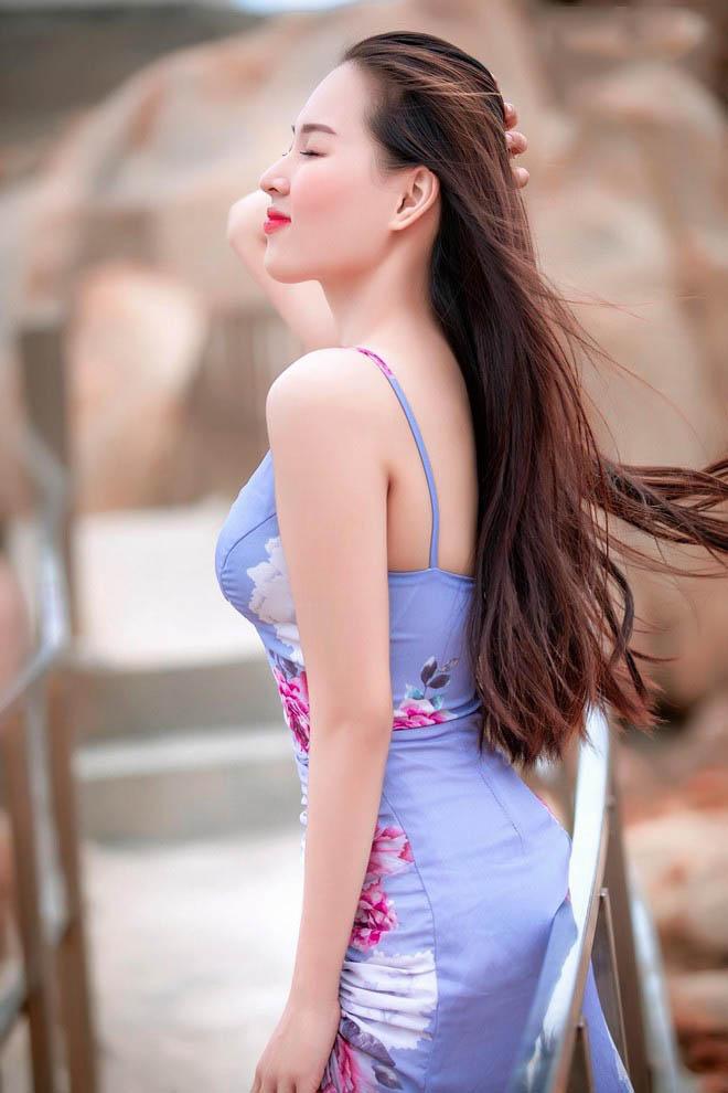 Nữ sinh Phú Yên lột xác ngoạn mục thành hot girl quyến rũ, khoe số đo 3 vòng như hoa hậu - Ảnh 3.
