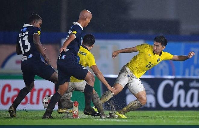 ĐT Thái Lan thua sốc đội hạng Nhì, HLV Nishino lên tiếng lý giải cho kết quả thất vọng - Ảnh 1.