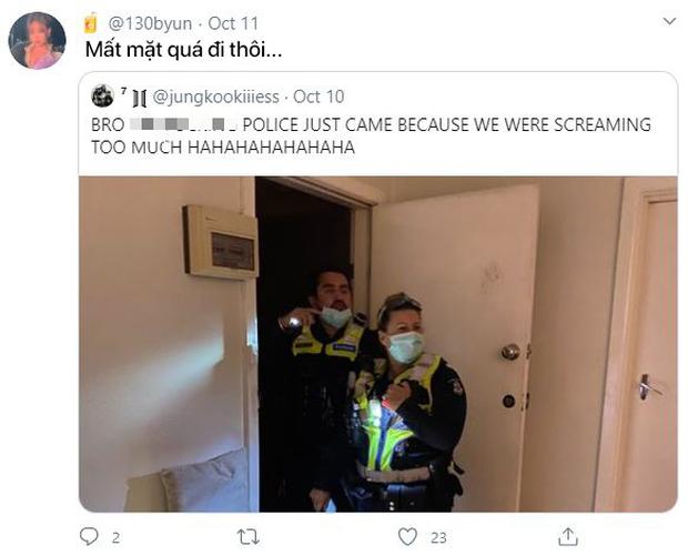 Hò hét quá to khi xem concert của BTS, gia chủ bị cảnh sát ập vào nhà vì tưởng có án mạng - Ảnh 6.
