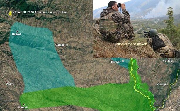 Tử chiến giành từng tấc đất ở Hadrut: Bước ngoặt trong xung đột Armenia - Azerbaijan? - Ảnh 2.