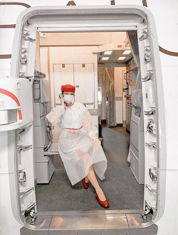 Gái đẹp Việt làm tiếp viên tại hãng hàng không đắt giá nhất hành tinh: Lương gần 1 tỷ/năm, từng đặt chân đến 76 quốc gia - ảnh 2