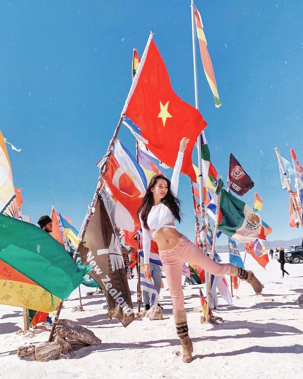 Gái đẹp Việt làm tiếp viên tại hãng hàng không đắt giá nhất hành tinh: Lương gần 1 tỷ/năm, từng đặt chân đến 76 quốc gia - ảnh 4