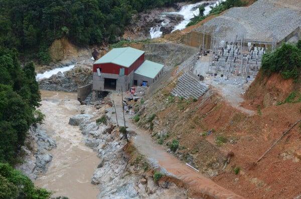 Không còn dấu vết của Trạm bảo vệ rừng 67 - nơi đoàn cứu hộ dừng chân Photo-1-16026506213861293823061
