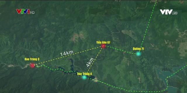 Không còn dấu vết của Trạm bảo vệ rừng 67 - nơi đoàn cứu hộ dừng chân Photo-1-16026582254411030364206