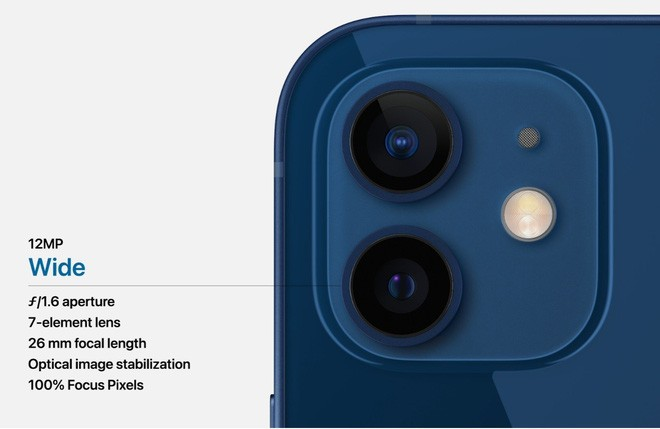 iPhone 12 và iPhone 12 mini ra mắt: Màn hình OLED, nâng cấp camera, A14 mạnh hơn 40%, hỗ trợ 5G, giá từ 699 USD - Ảnh 6.
