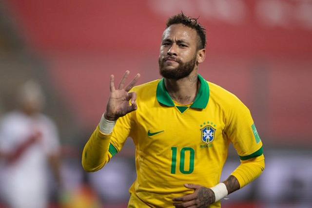 Peru 2-4 Brazil: Neymar lập hat-trick, Brazil đòi lại ngôi đầu - Ảnh 6.
