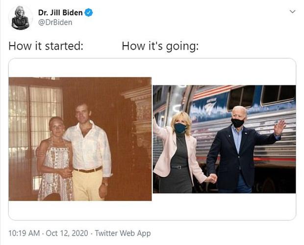 Trào lưu bắt đầu và kết thúc gây sốt trở lại với sự hưởng ứng hài hước của dân mạng, vợ của ông Joe Biden cũng kịp bắt trend - Ảnh 6.