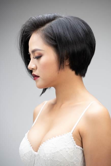 Chị Thu Quỳnh để tóc dài hay ngắn đều rất đáng yêu - Ảnh 2.