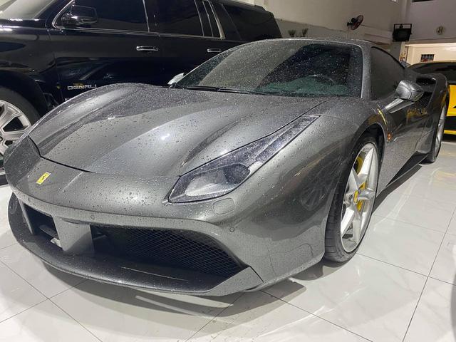 Doanh nhân Hải Phòng chia tay Ferrari 488 GTB màu xám từng của doanh nhân Nguyễn Quốc Cường - Ảnh 2.