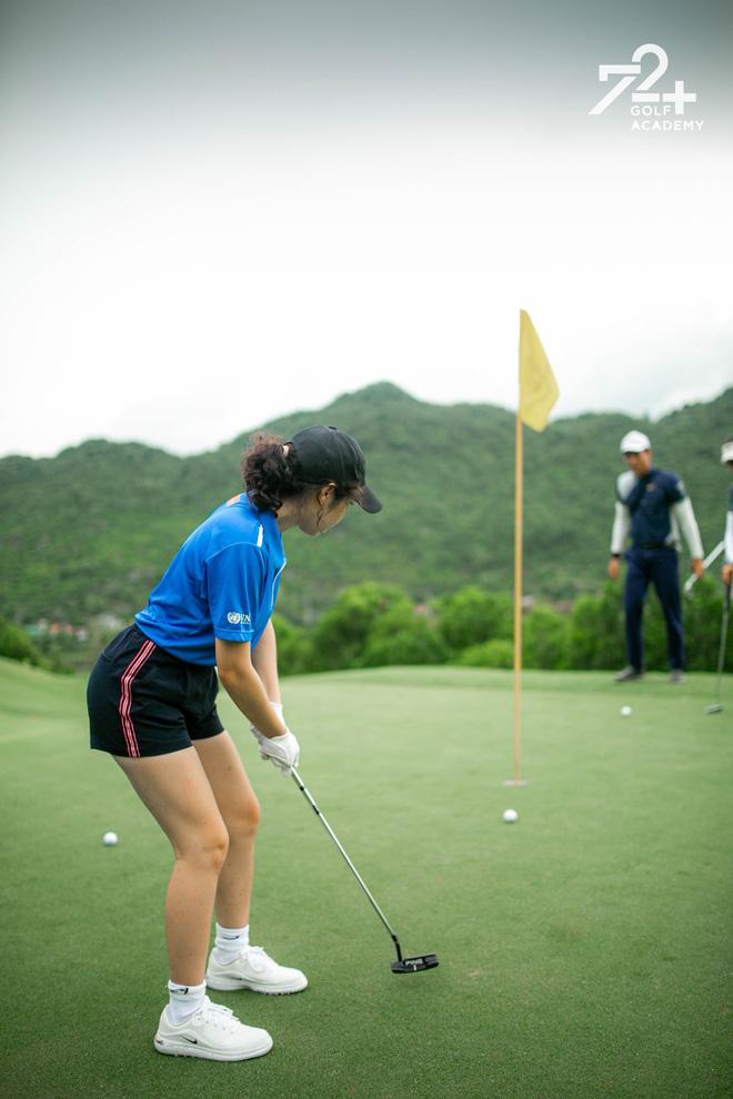 Tiểu thư 2k2 nhà Diva Mỹ Linh bước chân vào hội mê golf, tiết lộ nhờ vậy mà thân với bố hơn - Ảnh 3.