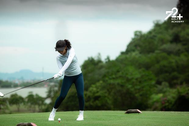 Tiểu thư 2k2 nhà Diva Mỹ Linh bước chân vào hội mê golf, tiết lộ nhờ vậy mà thân với bố hơn - Ảnh 5.
